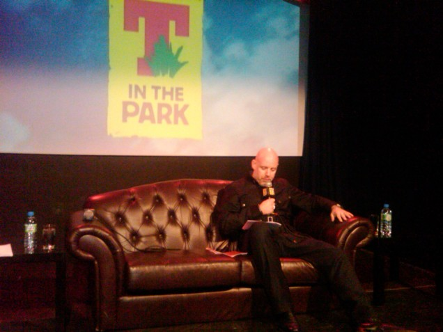 T in the Park boss Geoff Ellis announces the line-up for T in the Park 2010