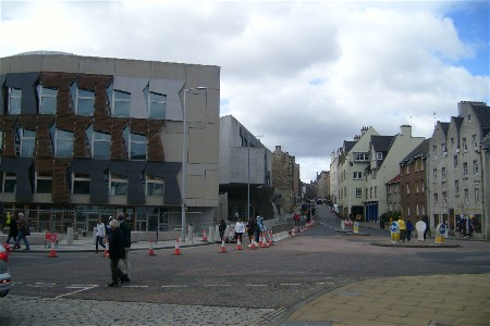 Royal Mile from Holyrood